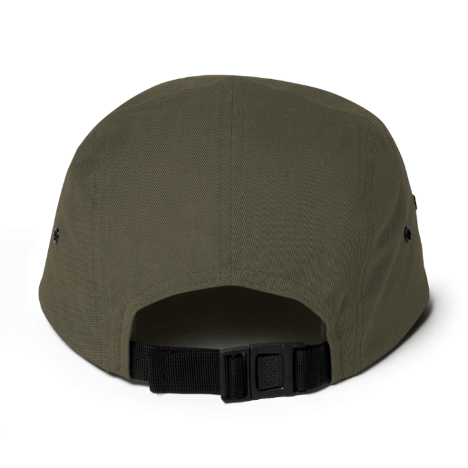 Centipede Nation 5 Panel Hat With Box Logo - Color: Woodland